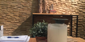 déco intérieure panneau bois