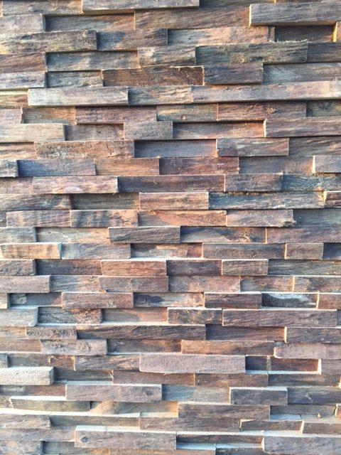 Parement bois massif recycl design pour une d coration - Parement bois 3d ...