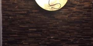 panneau parement mural bois