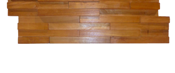 plaquette de parement mural bois